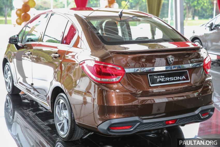 2016 Proton Persona officially launched, RM46k-60k Image #539851