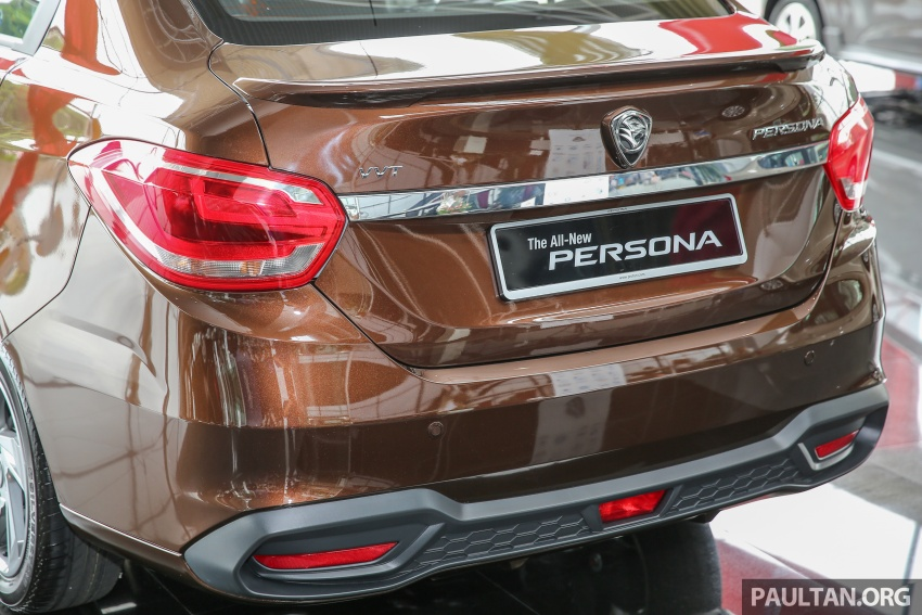 2016 Proton Persona officially launched, RM46k-60k Image #539852