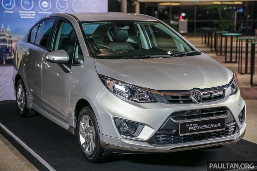 2016 Proton Persona officially launched, RM46k-60k Image #538638
