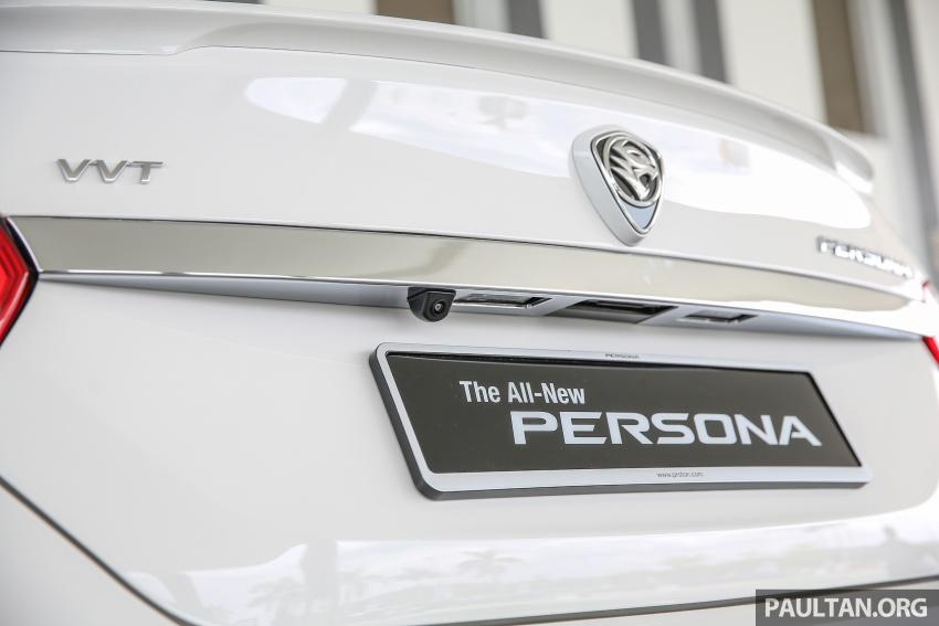 Proton Persona 2016 secara rasminya dilancarkan – 1.6L VVT, empat varian, harga bermula RM47k Image #539443