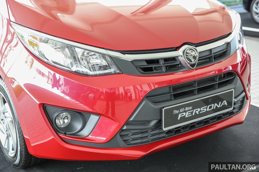 2016 Proton Persona officially launched, RM46k-60k Image #539174