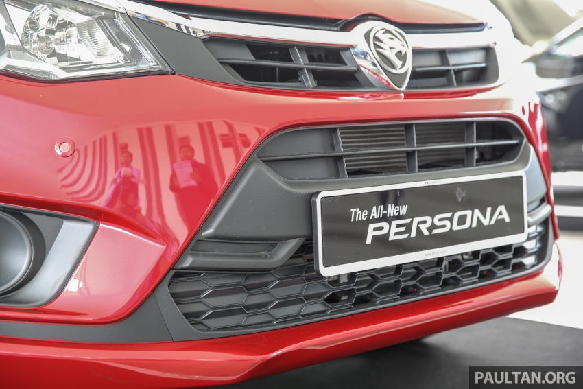 2016 Proton Persona officially launched, RM46k-60k Image #539183