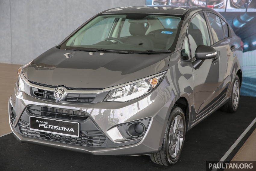 2016 Proton Persona officially launched, RM46k-60k Image #539138