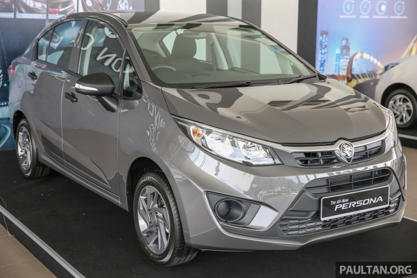 2016 Proton Persona officially launched, RM46k-60k Image #539140