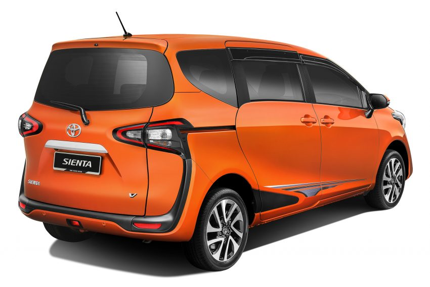 Toyota Sienta MPV launched in Malaysia, fr RM93k Image #536547