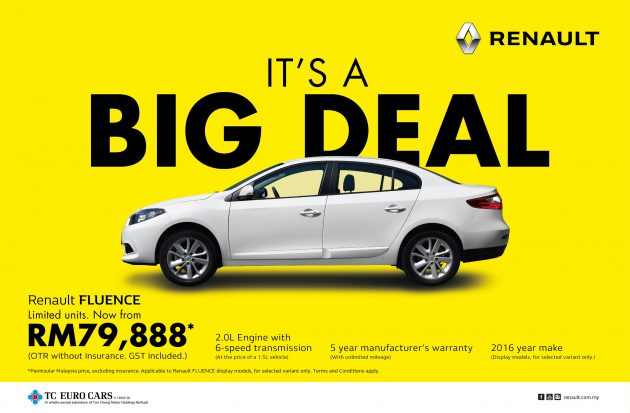 Renault Fluence It's A Big Deal Campaign