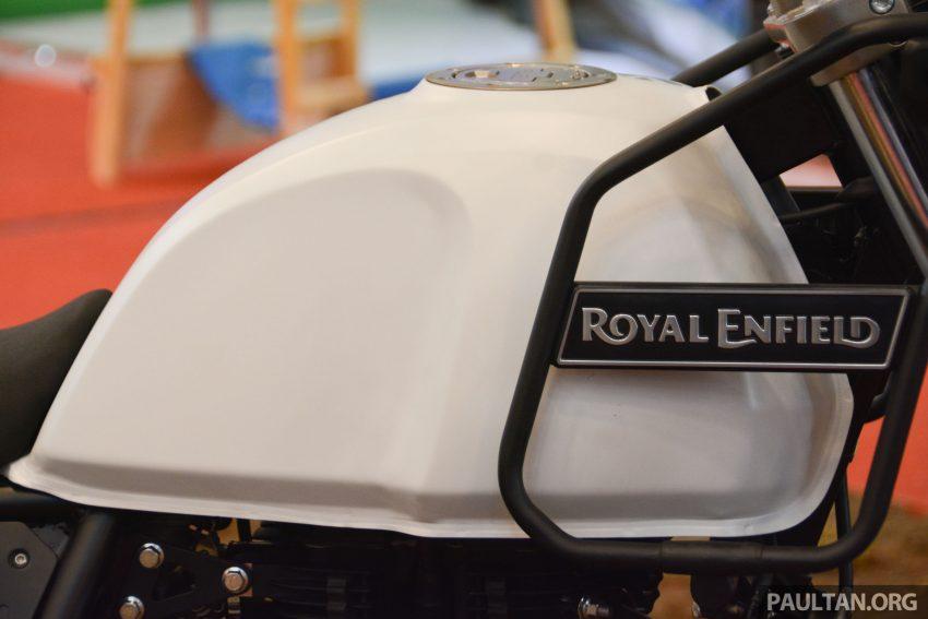 GIIAS 2016: Royal Enfield Himalayan, enjin L410 Image #535069