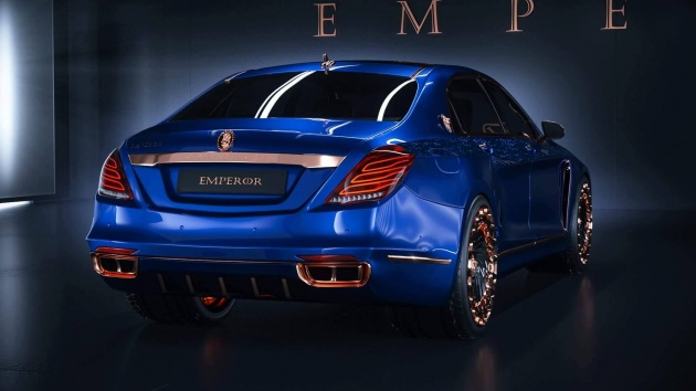 scaldarsi emperor i – based on the mercedes-maybach s600; only 10 in