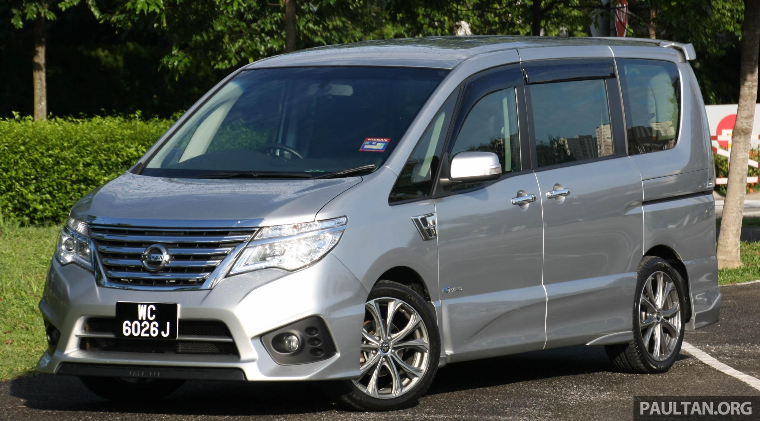 PANDU UJI: Nissan Serena S-Hybrid talaan Impul