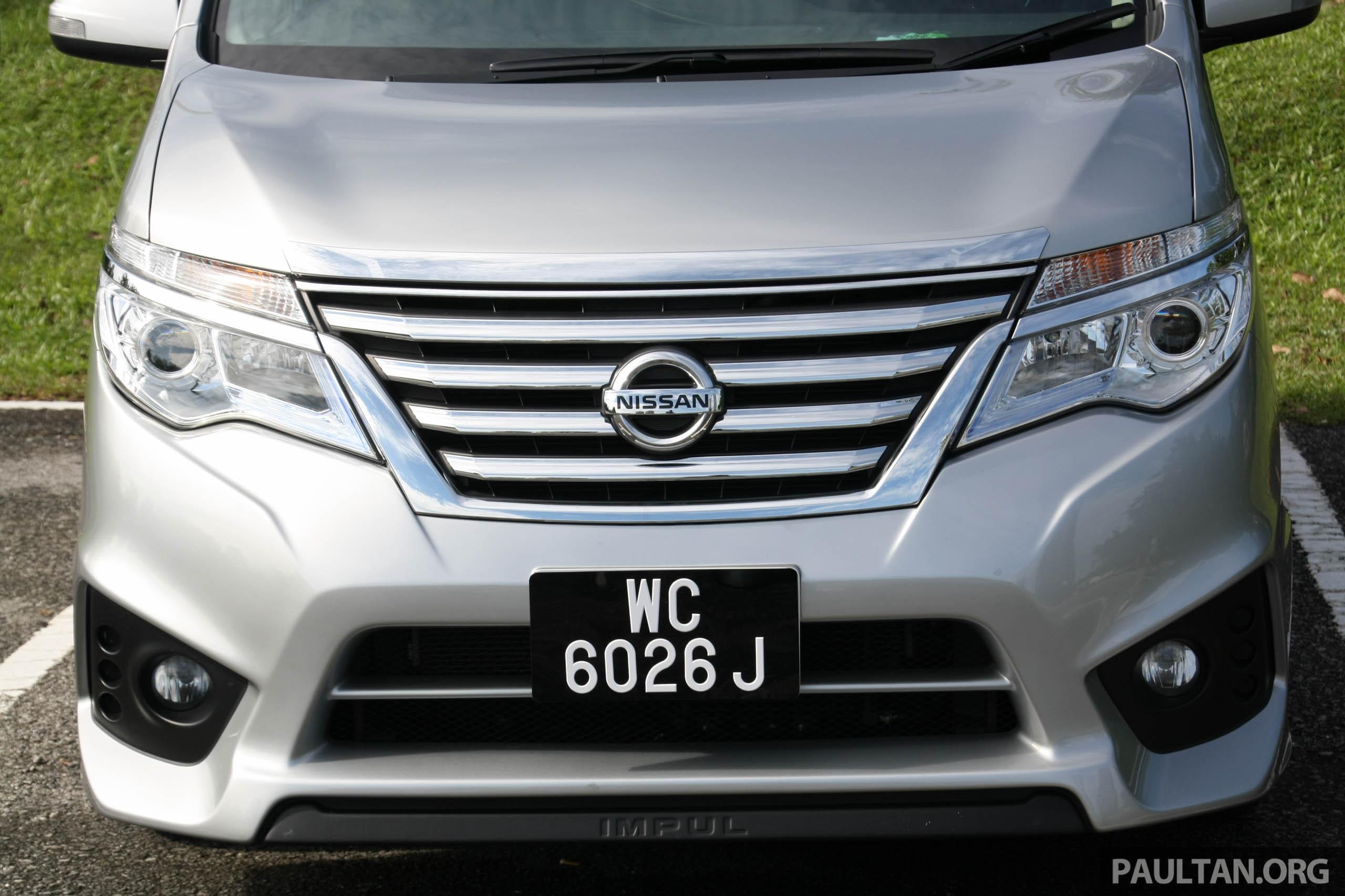 GALERI: Nissan Serena S-Hybrid Talaan Impul Paul Tan ...