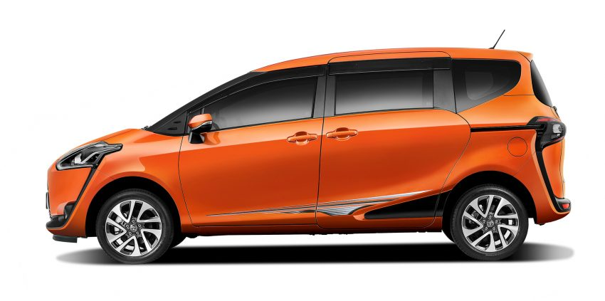 Toyota Sienta MPV launched in Malaysia, fr RM93k Image #536548