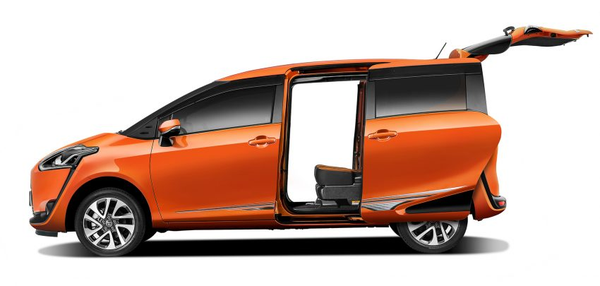 Toyota Sienta MPV launched in Malaysia, fr RM93k Image #536549
