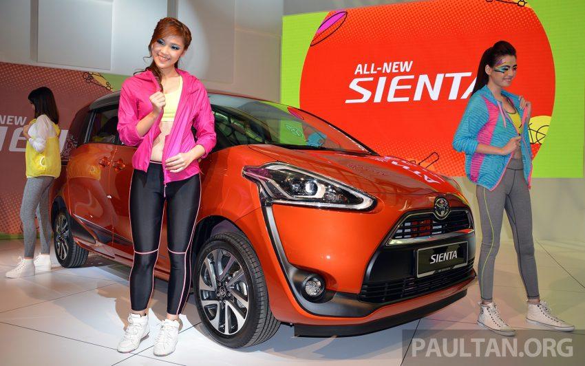 Toyota Sienta dilancarkan di Malaysia – dua varian dengan enjin 1.5L Dual VVT-i, harga bermula RM93k Image #536497