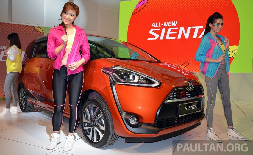 Toyota Sienta MPV launched in Malaysia, fr RM93k Image #536481