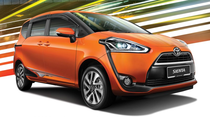 Toyota Sienta MPV launched in Malaysia, fr RM93k Image #536550