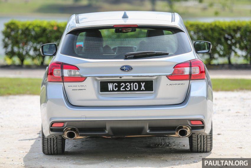 PANDU UJI: Subaru Levorg 1.6 GT-S cukup berkarakter Image #531399