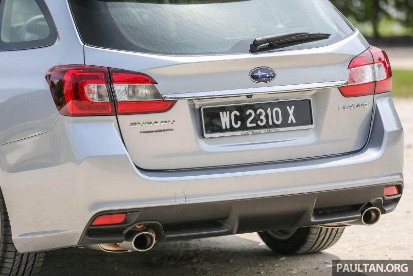 PANDU UJI: Subaru Levorg 1.6 GT-S cukup berkarakter Image #531405
