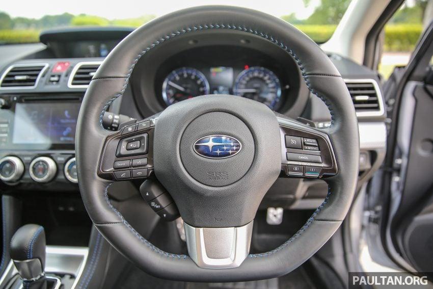 PANDU UJI: Subaru Levorg 1.6 GT-S cukup berkarakter Image #531417