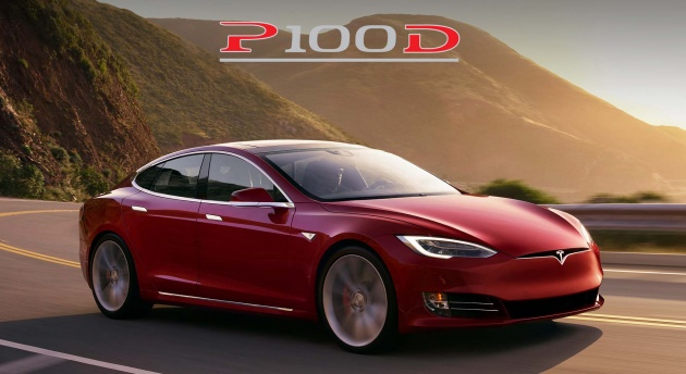 New Tesla Model S P100d With 100 Kwh Battery Is The Quickest Production Car In World 0 60 2 5s