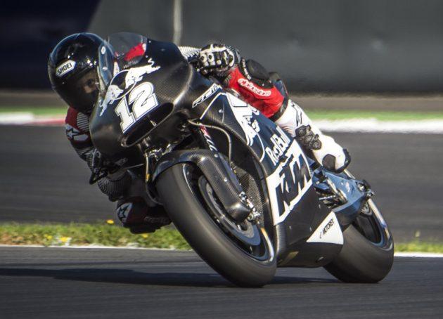 Tom Lüthi KTM RC16 Spielberg 2016-2