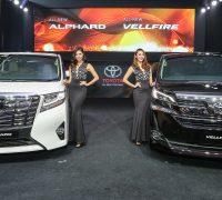 Toyota Alphard Vellfire launch 1