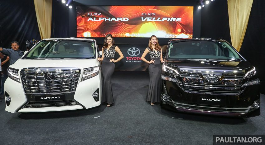 2016 Toyota Alphard and Vellfire launched in M'sia – RM408k-RM506k for Alphard, RM345k for Vellfire Image #529919