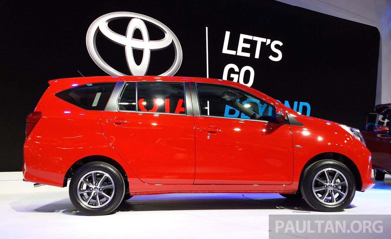 Giias 2016 Toyota Calya Baharu 1 2l Dual Vvt I Mpv 7