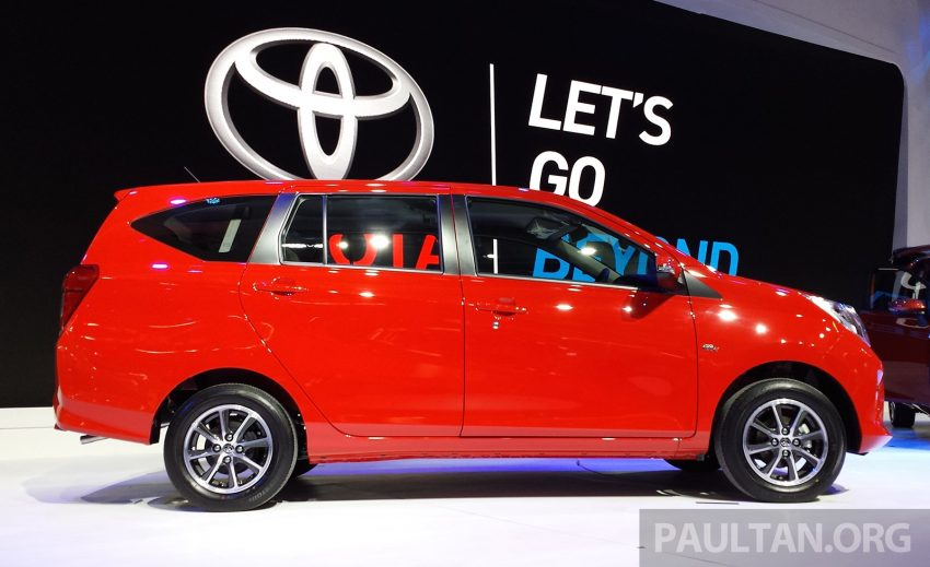 GIIAS 2016: New Toyota Calya – the RM40k 7-seat MPV Image #532980