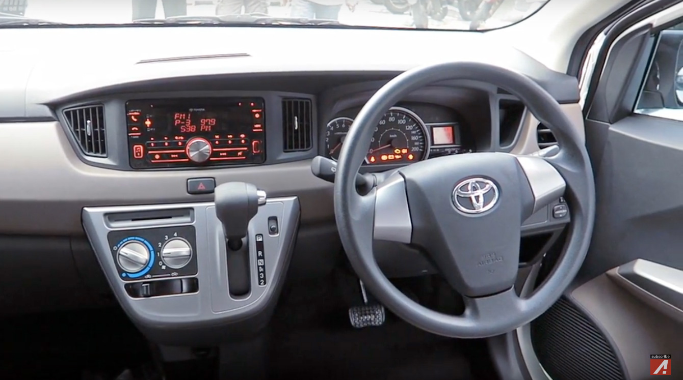 Toyota Calya New 7 Seat Lcgc Mpv For Indonesia Axia