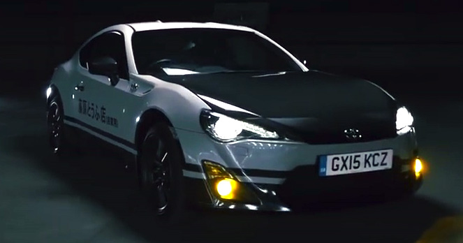 Toyota 86 Livery >> VIDEO: Toyota GT86 Initial D Concept delivers tofu