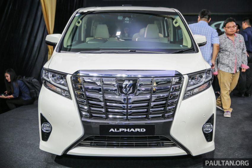 2016 Toyota Alphard and Vellfire launched in M'sia – RM408k-RM506k for Alphard, RM345k for Vellfire Image #530003