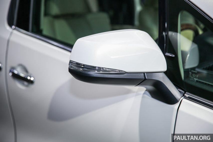 Toyota Alphard dan Vellfire 2016 dilancarkan di M'sia – RM420k-RM520k untuk Alphard, RM355k bagi Vellfire Image #530165