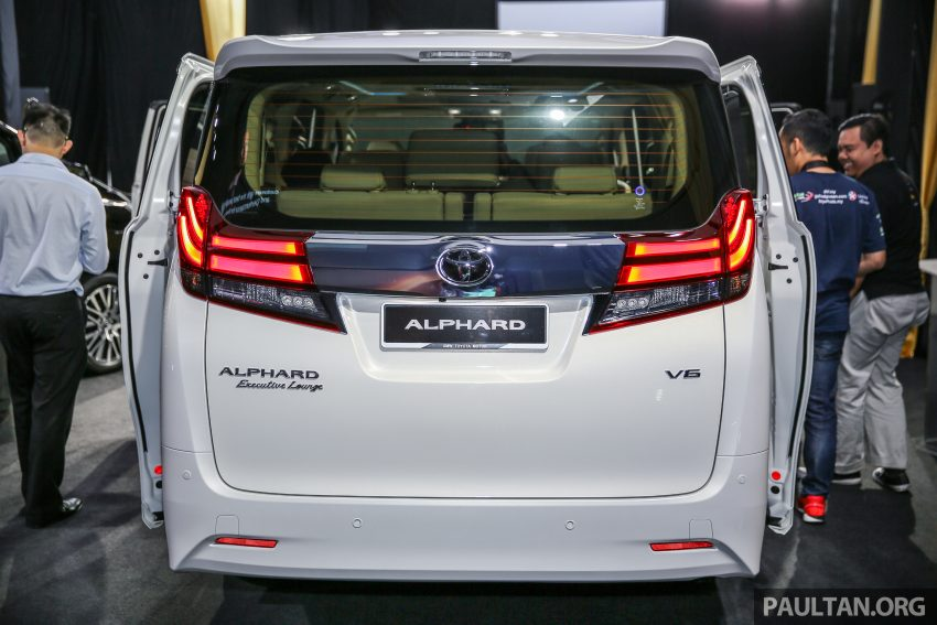 2016 Toyota Alphard and Vellfire launched in M'sia – RM408k-RM506k for Alphard, RM345k for Vellfire Image #530020
