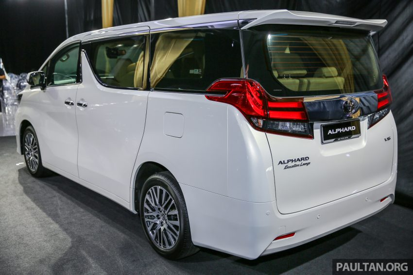 2016 Toyota Alphard and Vellfire launched in M'sia – RM408k-RM506k for Alphard, RM345k for Vellfire Image #530021
