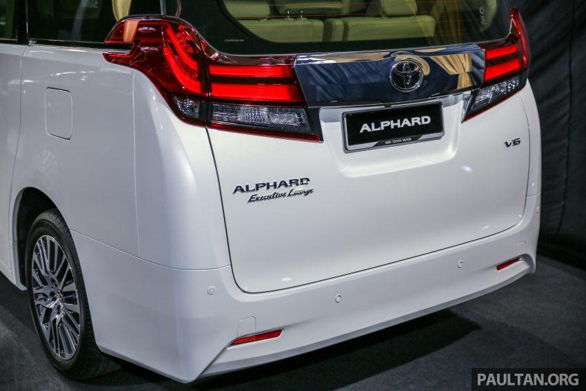 Toyota Alphard dan Vellfire 2016 dilancarkan di M'sia – RM420k-RM520k untuk Alphard, RM355k bagi Vellfire Image #530160