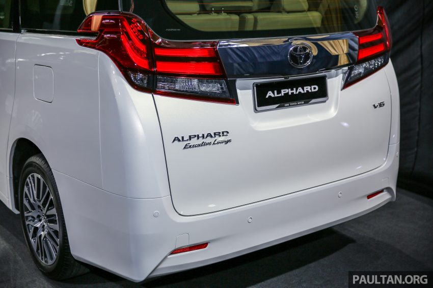 2016 Toyota Alphard and Vellfire launched in M'sia – RM408k-RM506k for Alphard, RM345k for Vellfire Image #530022