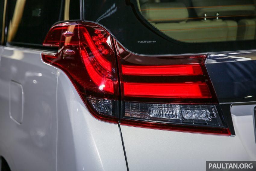 Toyota Alphard dan Vellfire 2016 dilancarkan di M'sia – RM420k-RM520k untuk Alphard, RM355k bagi Vellfire Image #530155
