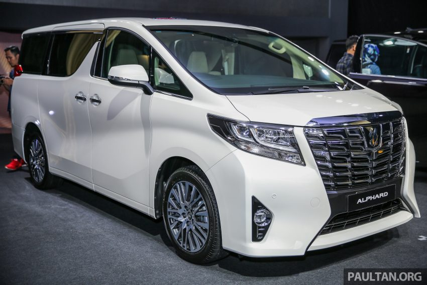 2016 Toyota Alphard and Vellfire launched in M'sia – RM408k-RM506k for Alphard, RM345k for Vellfire Image #530004