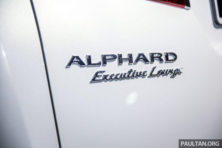 Toyota Alphard dan Vellfire 2016 dilancarkan di M'sia – RM420k-RM520k untuk Alphard, RM355k bagi Vellfire Image #530151