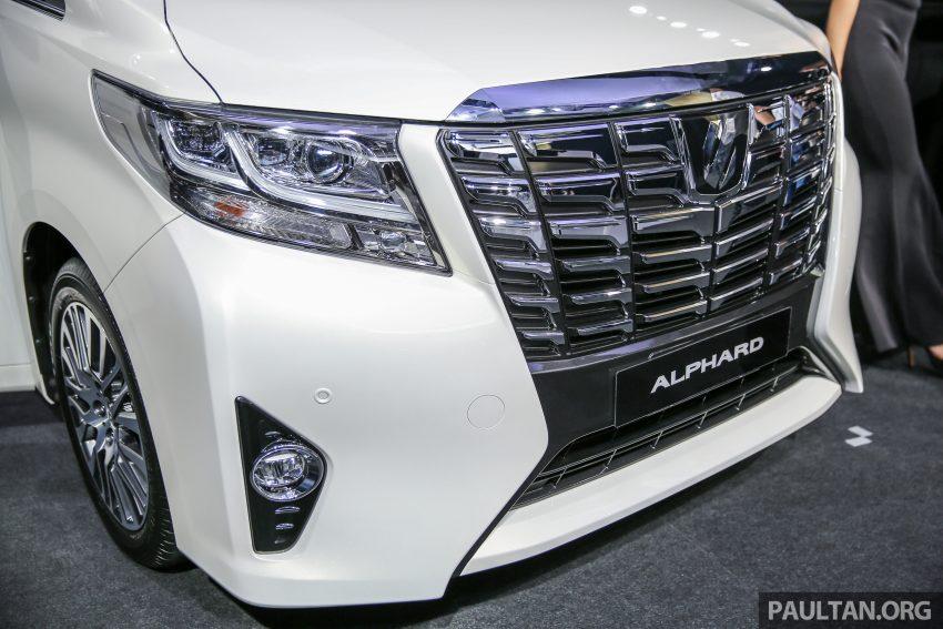 Toyota Alphard dan Vellfire 2016 dilancarkan di M'sia – RM420k-RM520k untuk Alphard, RM355k bagi Vellfire Image #530142