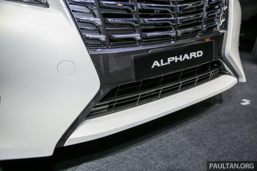 Toyota Alphard dan Vellfire 2016 dilancarkan di M'sia – RM420k-RM520k untuk Alphard, RM355k bagi Vellfire Image #530141