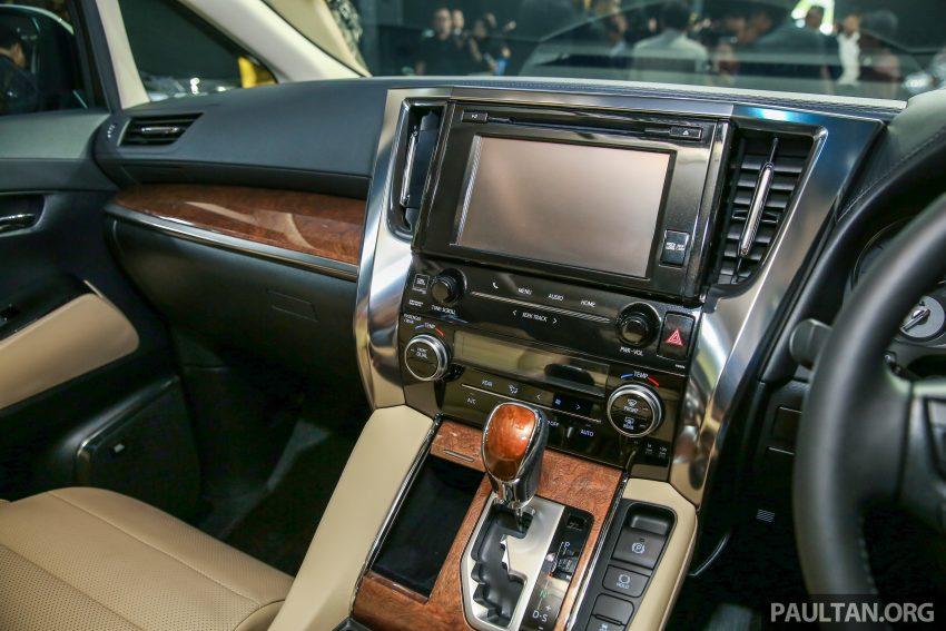 Toyota Alphard dan Vellfire 2016 dilancarkan di M'sia – RM420k-RM520k untuk Alphard, RM355k bagi Vellfire Image #530112