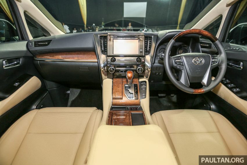 2016 Toyota Alphard and Vellfire launched in M'sia – RM408k-RM506k for Alphard, RM345k for Vellfire Image #530066