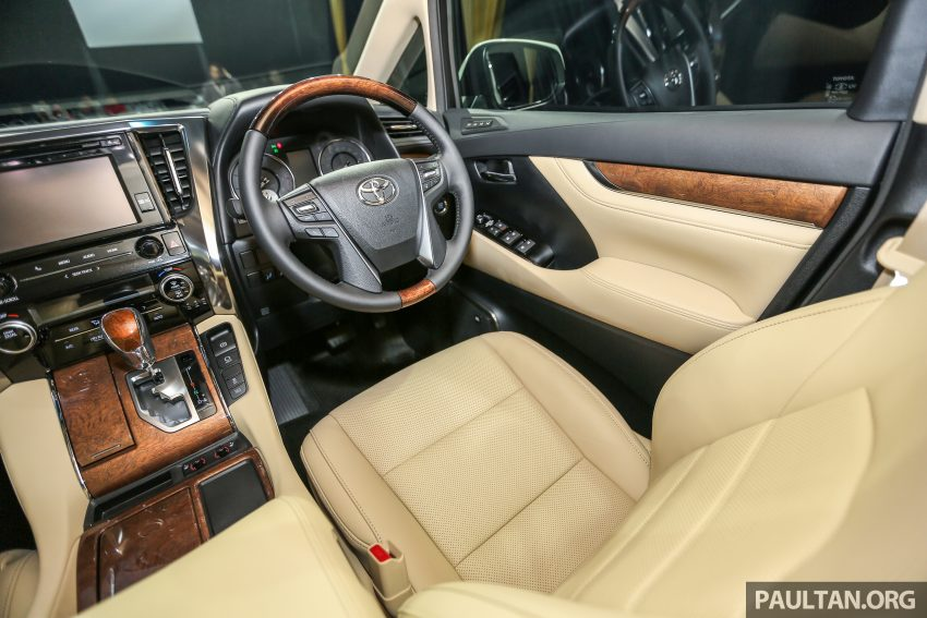 2016 Toyota Alphard and Vellfire launched in M'sia – RM408k-RM506k for Alphard, RM345k for Vellfire Image #530068