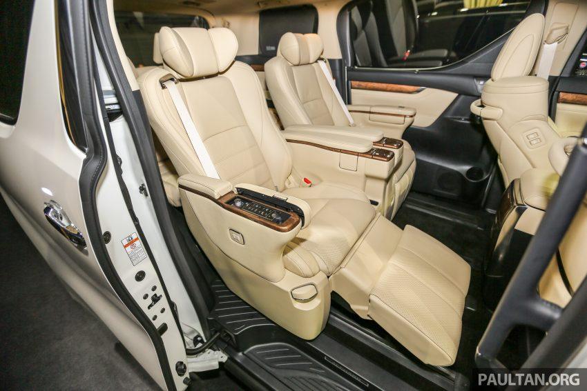 Toyota Alphard dan Vellfire 2016 dilancarkan di M'sia – RM420k-RM520k untuk Alphard, RM355k bagi Vellfire Image #530097