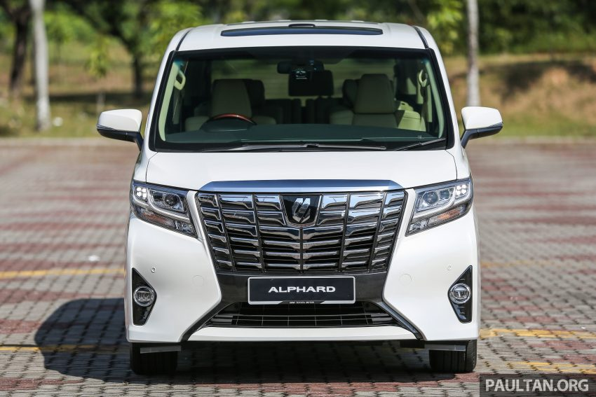 2016 Toyota Alphard and Vellfire launched in M'sia – RM408k-RM506k for Alphard, RM345k for Vellfire Image #529312