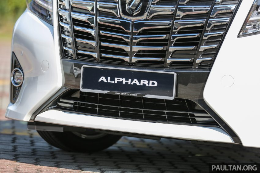 Toyota Alphard dan Vellfire 2016 dilancarkan di M'sia – RM420k-RM520k untuk Alphard, RM355k bagi Vellfire Image #529640