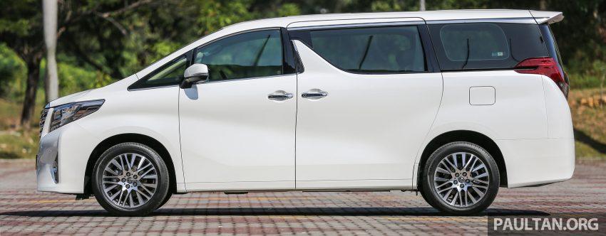 Toyota Alphard dan Vellfire 2016 dilancarkan di M'sia – RM420k-RM520k untuk Alphard, RM355k bagi Vellfire Image #529564