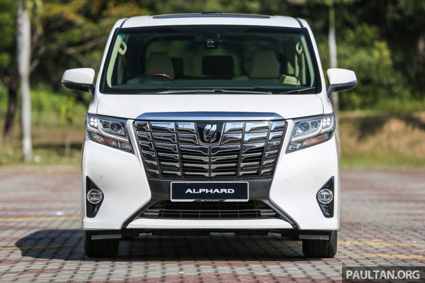 2016 Toyota Alphard and Vellfire launched in M'sia – RM408k-RM506k for Alphard, RM345k for Vellfire Image #529313