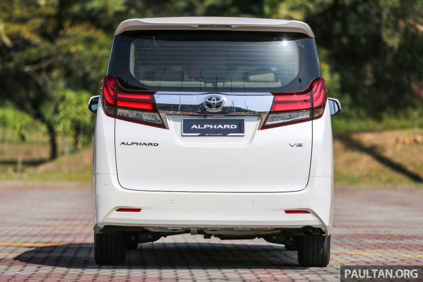 Toyota Alphard dan Vellfire 2016 dilancarkan di M'sia – RM420k-RM520k untuk Alphard, RM355k bagi Vellfire Image #529629